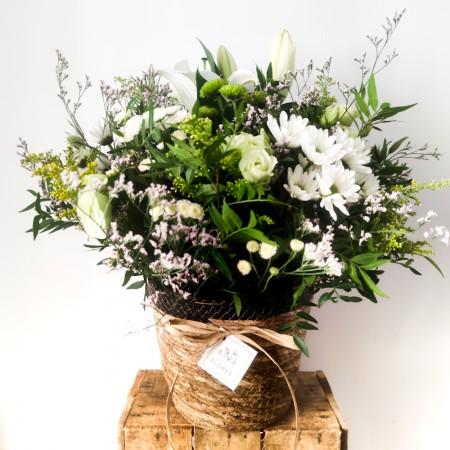 Cesto con flores